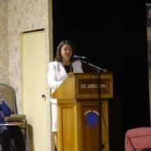 Cathaoirleach Eileen Mannion