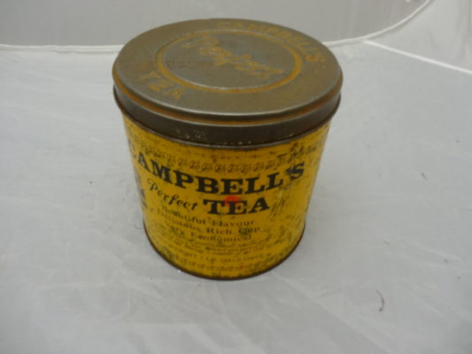 Campbell's Tea Tin | MHG