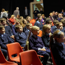 School children in attendance | Photo: Tuam Photo Studio