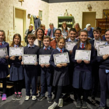 Certificates given to all those who took part in the Heritage Food Project | Photo: Tuam Photo Studio