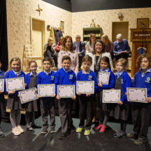 Participation certs presented to MNS students | Photo: Tuam Photo Studio