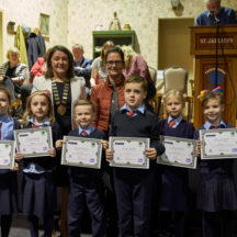 Presentation of certificates | Tuam Photo Studio