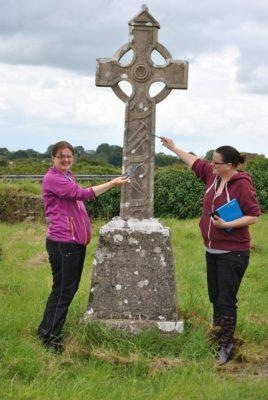 Digitisation of Kilclooney Graveyard | Photo: Christy Cunniffe