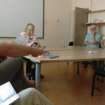 Discussion with heritage groups | Photo: A Cosgrove