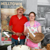 Tom Seale (Woodlawn Heritage Group) & Pauline Connolly (Milltown Heritage) | Photo: Hany Marzouk
