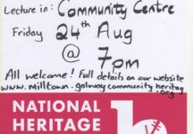 Poster for Heritage Week