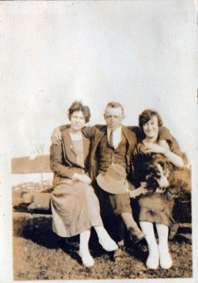Loretta, John and Nora
