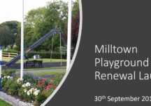 Milltown Playground Renewal Launch