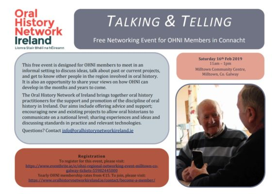 Oral Heritage Network of Ireland