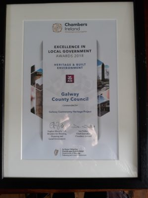 Award | Photo of framed cert taken by Steve Dolan