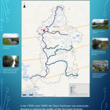 Landscape of the River Clare | Sources: https://ecofactireland.com & EPA. Photos courtesy Dr Will O'Connor