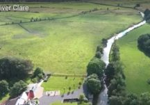 Drone Footage of the River Clare