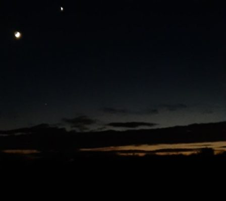 Moon and Venus | Pauline Connolly