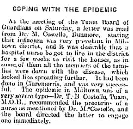 08th March 1919 | Connacht Tribune