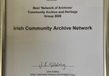Certificate of Best Network of Archives