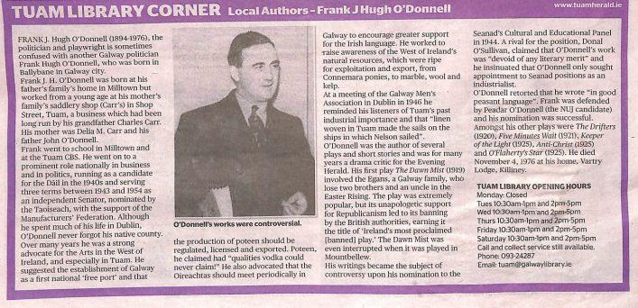 Frank J Hugh O'Donnell