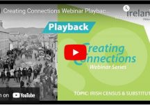 Creating Connections Playback: Irish Census and Substitutes