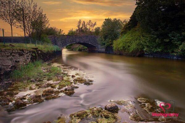 Sunset on the Bridge in Milltown | Murtography