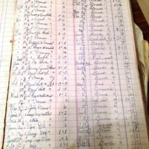 Page 32 from Keane's old shop ledger 1938-1939 | Bernard and Dolores Keeley, Knock, Barnaderg