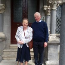 Mary and Dom Dunleavy | Photo: Eileen O'Connell, Dangan