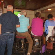 Watching Donegal beat Tyrone in Sheridans | Photo: B. Forde