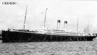 RMS Cedric was an ocean liner owned by the White Star Line. She was the second of a quartet of ships over 20,000 tons, dubbed The Big Four, and was the largest vessel in the world at the time of her launch.[1] After her maiden voyage in 1903, she was in service until 1932. | https://www.google.ie/search?newwindow=1&safe=active&rlz=1C1CHNU_enIE343IE343&biw=1099&bih=609&tbm=isch&sa=1&ei=dMk9W_7HCISWgAanuoOIBA&q=The+Cedric+ship&oq=The+Cedric+ship&gs_