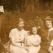 Mrs. Keane (Annie's mother), Annie Keane, Evelyn Boyle, Mrs. Boyle and Kevin Boyle | Killererin Heritage Society