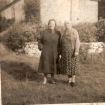 Mrs. Hanley on right (we think) | Killererin Heritage Society