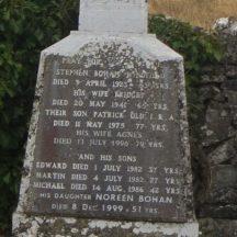 Grave 16: Bohan family, Windfield | Bernadette Forde, Killererin Heritage Society