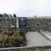 Grave 18: Connell family, Tygreenane | Bernadette Forde, Killererin Heritage Society
