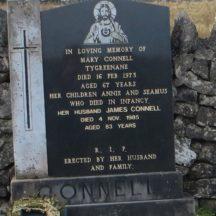 Grave18: Connell family Tygreenane | Bernadette Forde, Killererin Heritage Society