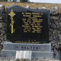 Grave 19: Connell McWalter families, Hillsbrook | Bernadette Forde, Killererin Heritage Society