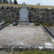 Grave 20: Hennelly family, Dangan | Bernadette Forde, Killererin Heritage Society