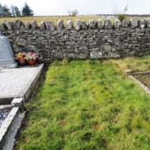 Grave 24: single plot - no marker | Bernadette Forde, Killererin Heritage Society