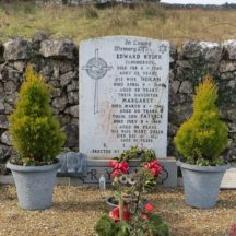 Grave 7 - Ryder family, Clogherboy Edward, Norah, Margaret, Patrick, and Mary Delia | Bernadette Forde, Killererin Heritage Society