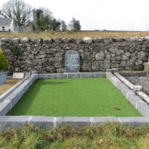 Grave 8 - Ellen Mullen, Mary King and Christina Mullen | Bernadette Forde, Killererin Heritage Society