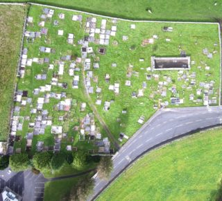 Arial-photo-of-Old-graveyard-taken-by-Owen-Jennnings-September-2018 | Owen Jennings, Cahergal