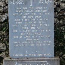 Grave 26:  Dolan family, Brierfield | Bernadette Forde, Killererin Heritage Society