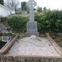 Grave 4: Mary Dolan and her husband Michael Thomas, Dangan and also Mrs. Theresa McVicker nee Dolan  | Bernadette Forde, Killererin Heritage Society