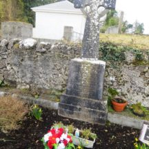 GRAVE 3B  - Grave of Dolly family, Dangan, Patrick, Kathleen, Catherine, Annie and Thomas | Bernadette Forde, Killererin Heritage Society