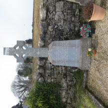 Grave 11A: left hand side of two double plots which are kerbed as one. | Bernadette Forde, Killererin Heritage Society