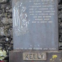 Grave 17: Kelly Donnellan families | Bernadette Forde, Killererin Heritage Society