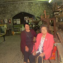 L-r: Bridie Kilkelly and Anne Treacy sitting comfortably at the Museum | Bernadette Forde
