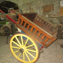 cart on display at Museum | Bernadette Forde