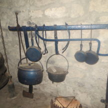 Fire crane with cooking implements used in a bygone era | Bernadette Forde