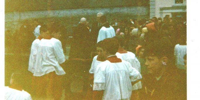 Killererin Church and ceremonies in 1970s