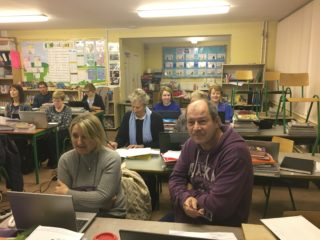 Some of the Genealogy class 2019 in Barnaderg NS | Bernadette Forde