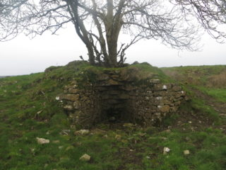 Lime kiln at Carrowmanagh | B. Forde, April, 2020