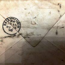 Back of envelope posted from Ballyglunin in 1898 | J. Lennon, Dundrum, Co. Dublin