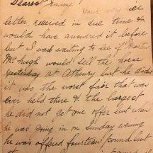 P1 letter posted to James Mullin in 1898 from Ballyglunin | J. Lennon, Dundrum, Co. Dublin